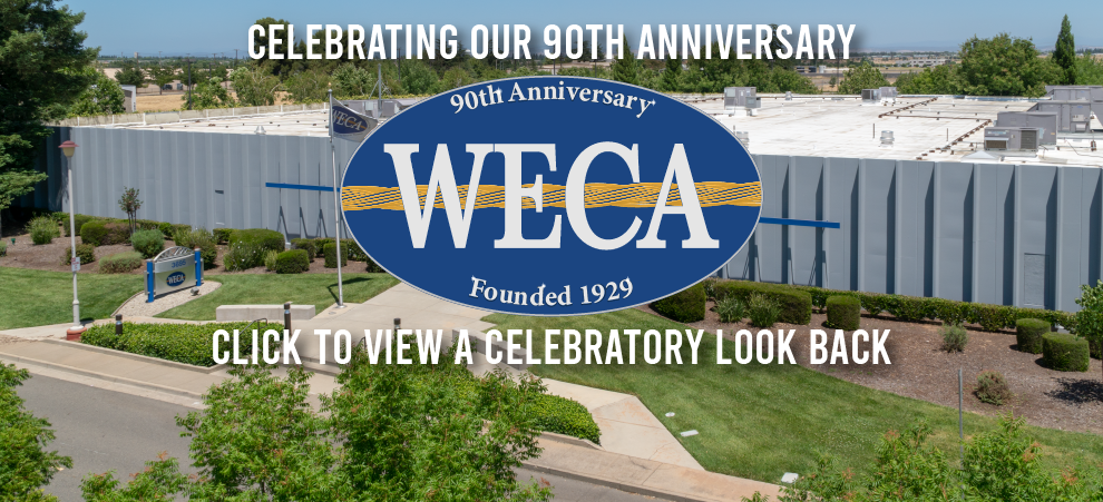 WECA 90th Anniversary