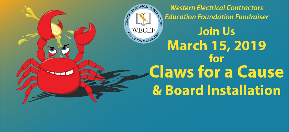 WECEF Crab Feed and Board Installation