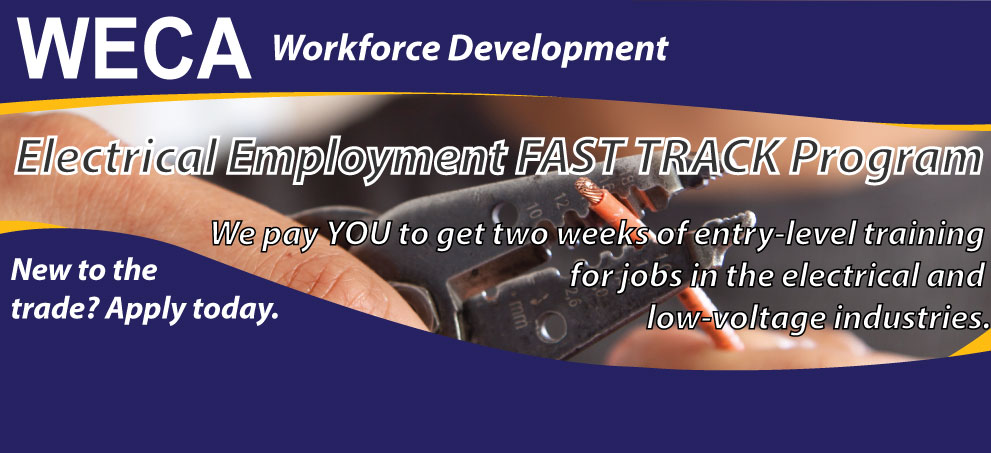 Apply for WECA Fast Track