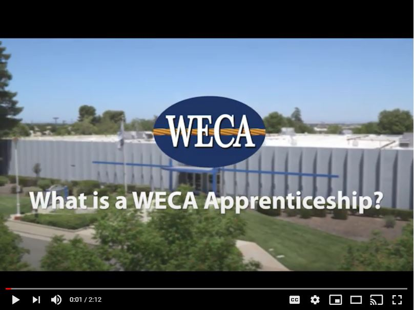 What is a WECA Apprenticeship? Video